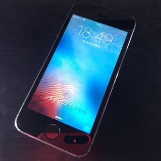 アイフォーン(iPhone)の【格安】 iPhone 5s Space Gray 32 GB レア(スマートフォン本体)