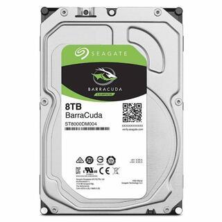 新品未使用ST8000DM004 [8TB SATA600 5400]