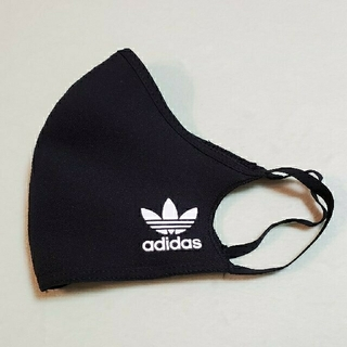 adidas - 新品未使用 アディダス✩.*˚ ブラック マスクカバー