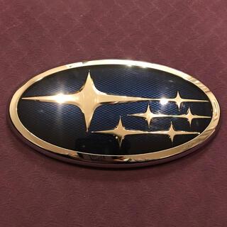 スバル(スバル)のスバル純正エンブレム 六連星 SUBARU 横16.6センチ縦8.8センチ(車外アクセサリ)