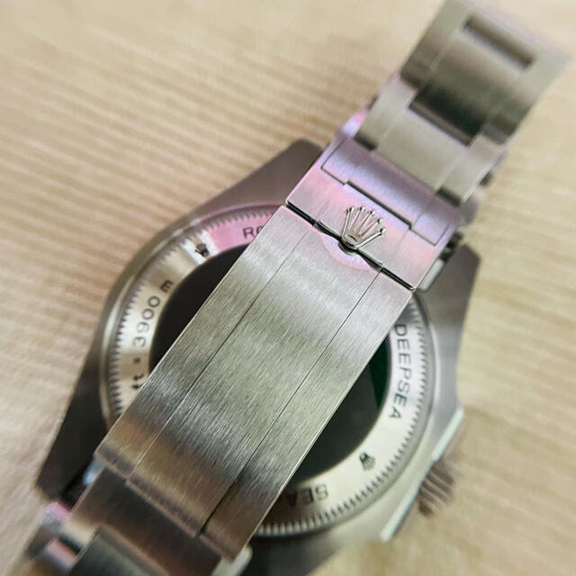ROLEX(ロレックス)のシード ディープシー オリジナル文字盤 修理部品一式 メンズの時計(腕時計(アナログ))の商品写真