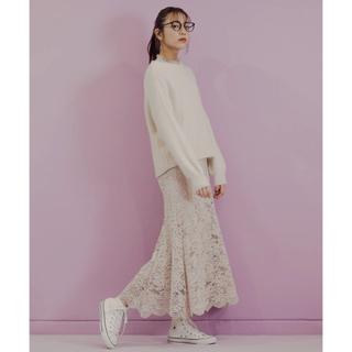 Andemiu - レースナロースカート
