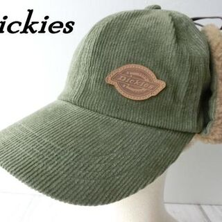 ディッキーズ(Dickies)の☆残り僅か☆ 新品未使用 ディッキーズ フライトキャップ カーキ 57~59cm(キャップ)