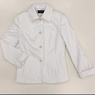 クイーンズコート(QUEENS COURT)のクィーンズコート  白 ジャケット フォーマル(スーツ)