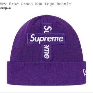Supreme - Supreme Cross Box Logo Beanie