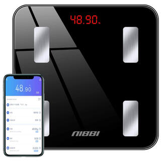 新品❗️体重計 体組成計 体脂肪計 Bluetooth スマホ連動(体重計/体脂肪計)