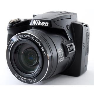 ニコン(Nikon)の#2322 Wi-Fi付きです!!☆スマホに写真転送OK♪☆NIKON P500(コンパクトデジタルカメラ)