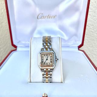 Cartier - 美品✨カルティエ Cartier パンテール SM コンビ 腕時計
