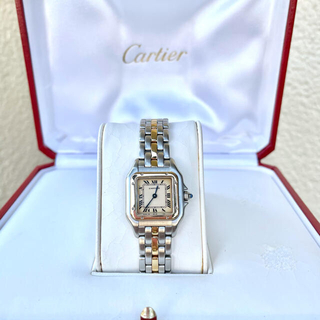 Cartier - 美品✨カルティエ Cartier パンテール SM コンビ 腕時計