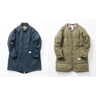 ステュディオス(STUDIOUS)のName. FINX CHINO CLOTH BALMACAAN COAT (ステンカラーコート)