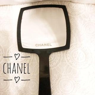 シャネル(CHANEL)の♡CHANEL シャネル ミラー 手鏡 鏡(ミラー)