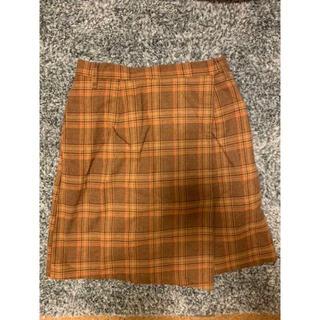 ウィゴー(WEGO)のチェックスカート プリーツスカート(ミニスカート)