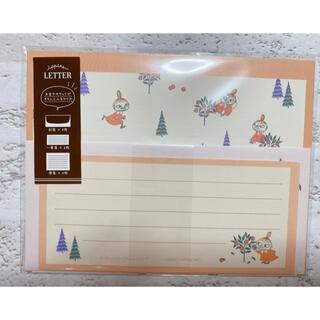 リトルミー(Little Me)の【MOOMIN】ムーミン ippitsu LETTER レターセット リトルミイ(カード/レター/ラッピング)