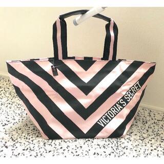 Victoria's Secret - ヴィクトリアシークレット トートバッグ ピンク×ブラック 新品未使用