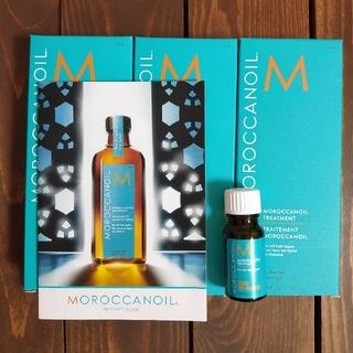 モロッカンオイル(Moroccan oil)の新品未使用 モロッカンオイル トリートメント 100ml×3本セット+サンプル(オイル/美容液)