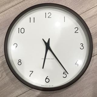 アクタス(ACTUS)のレムノス カンパーニュ ブラウン 掛け時計(掛時計/柱時計)