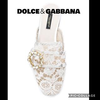 ドルチェアンドガッバーナ(DOLCE&GABBANA)のドルチェ&ガッバーナ ミュール(ミュール)