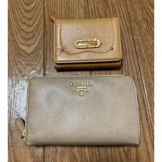 プラダ(PRADA)の【セット売り】サマンサタバサとプラダの財布(財布)