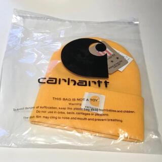 carhartt - カーハット ニット帽 (イエロー)他の商品と買うとお得です!