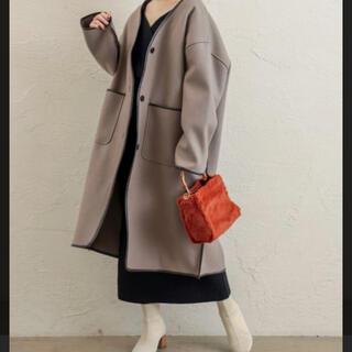 ナチュラルクチュール(natural couture)のnatural couture コート ブラウン 冬 アウター レディース 美品(ロングコート)