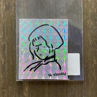 "Yu Nagaba ""Girl"" Hologram 長場雄 ステッカー(シール)"