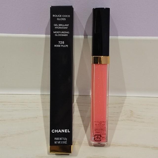 CHANEL(シャネル)のCHANEL  ルージュココグロス 728 コスメ/美容のベースメイク/化粧品(リップグロス)の商品写真