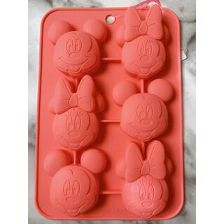 ディズニー(Disney)のダイソー ディズニー シリコンモールド ミッキー ミニー(調理道具/製菓道具)