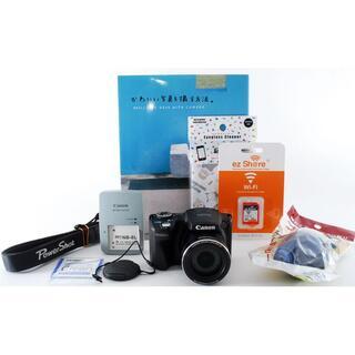 キヤノン(Canon)の☆Wi-Fi付き♪広角〜超望遠まで撮影OK‼☆ Canon キャノン SX500(コンパクトデジタルカメラ)