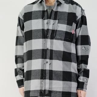 マスターマインドジャパン(mastermind JAPAN)のマスターマインドジャパン チェックシャツ L(シャツ)