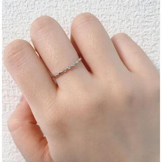 エテ(ete)のete K10WGダイヤリング(リング(指輪))