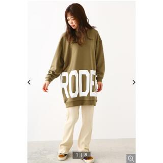 ロデオクラウンズ(RODEO CROWNS)のロデオクラウン トレーナーワンピ(トレーナー/スウェット)