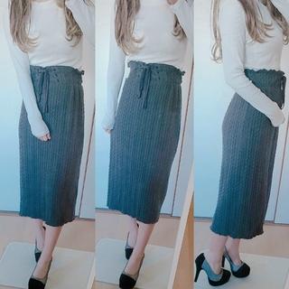 ダブルクローゼット(w closet)の【セットコーデ】 RESEXXY DURAS CECILMcBEE 好♡(ロングスカート)