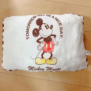 ディズニー(Disney)のミッキー ふわふわクッション✨(クッション)