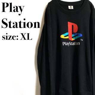 プレイステーション(PlayStation)のPlayStation プレステ トレーナー スウェット ビッグロゴ(スウェット)