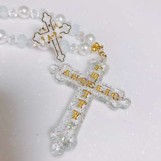 Angelic Pretty - Angelic Pretty cross ネックレス リング アクセサリーセット