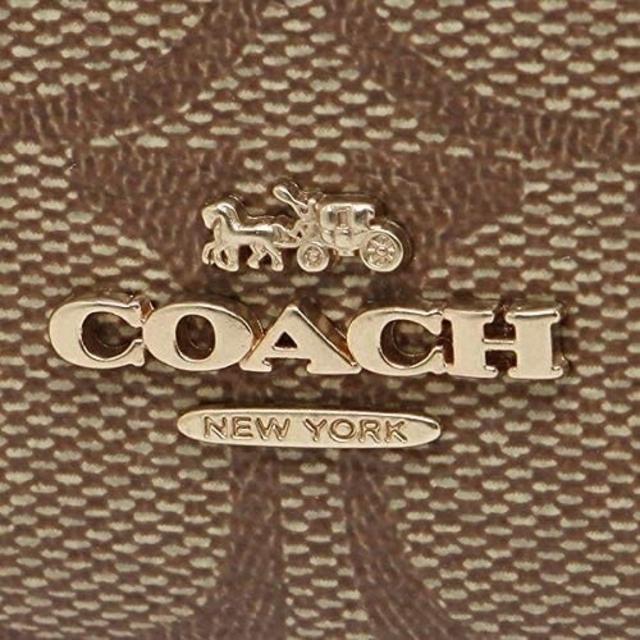 COACH(コーチ)の特価! 新品 COACH コーチ リング付パスケース・小銭入れ カーキ ピンク レディースのファッション小物(コインケース)の商品写真