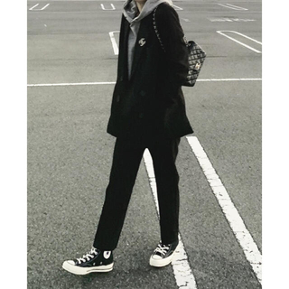 ❣️新品❣️ok.soon  blackセットアップスーツ(スーツ)