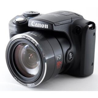 キヤノン(Canon)の#2239☆Wi-Fi付き♪広角〜超望遠まで撮影OK‼☆ Canon SX500(コンパクトデジタルカメラ)