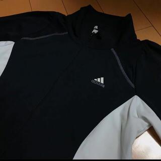 アディダス(adidas)のadidas ストレッチ薄手ジャージ(カットソー(長袖/七分))