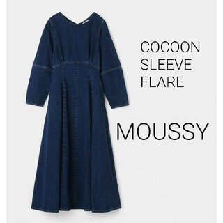 moussy - MOUSSY COCOON SLEEVE FLARE DRESS