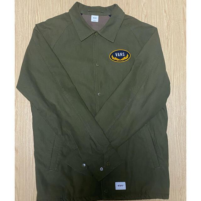 W)taps(ダブルタップス)のwtaps vans コーチジャケット メンズのジャケット/アウター(ブルゾン)の商品写真