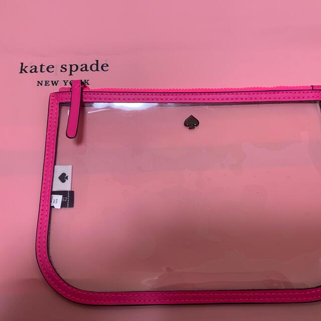 kate spade new york(ケイトスペードニューヨーク)の 新品・未使用 ケイト・スペード kate spade ポーチ 透明  レディースのファッション小物(ポーチ)の商品写真