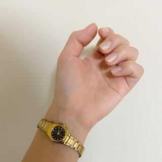 オリエント(ORIENT)のvintage ORIENT ゴールド 腕時計(腕時計)