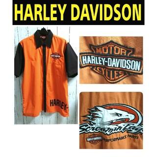 ハーレーダビッドソン(Harley Davidson)のHARLEY-DAVIDSON ハーレーダビッドソン ビッグサイズ シャツ L(シャツ)