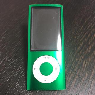 アップル(Apple)のApple iPod nano 16GB 第五世代 充電ケーブル付(ポータブルプレーヤー)