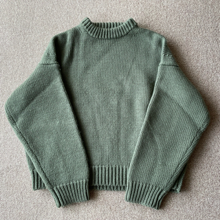 AURALEE オーラリー SUPER MILLED KNIT BIG