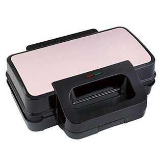ピンクVegetable ビッグマルチサンドメーカー GD-BG6 (ピンク)(ホットプレート)