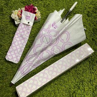 COACH - 美品コーチCOOCH レディ折りたたみ傘