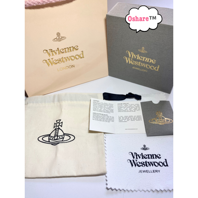 Vivienne Westwood(ヴィヴィアンウエストウッド)の【新品】ヴィヴィアンウエストウッド ブレスレット 専用ボックス・紙袋付き レディースのアクセサリー(ブレスレット/バングル)の商品写真