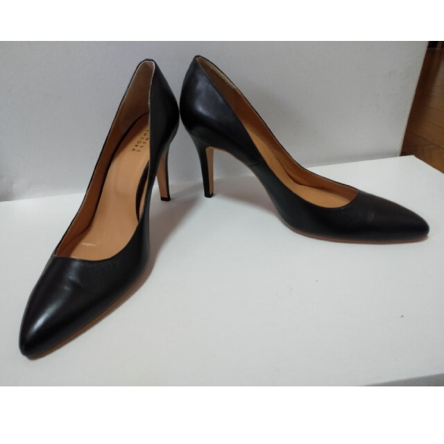 [大きいサイズお探しの方] バニーズニューヨーク パンプス ブラック サイズ26 レディースの靴/シューズ(ハイヒール/パンプス)の商品写真